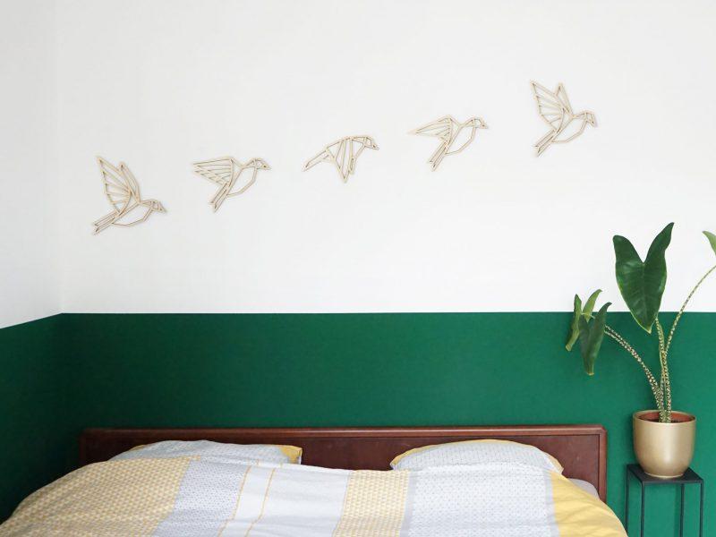 vogels met bed